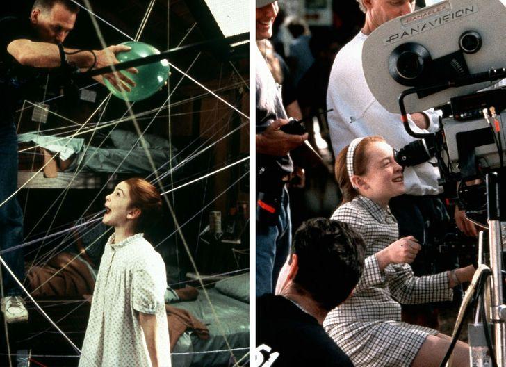 Немного закадровых снимков со съемок известных фильмов
