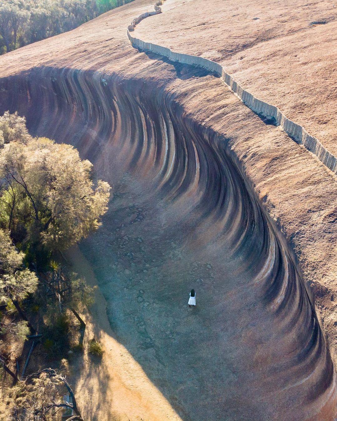 Австралийский бирюзовый пруд, в котором невозможно утонуть