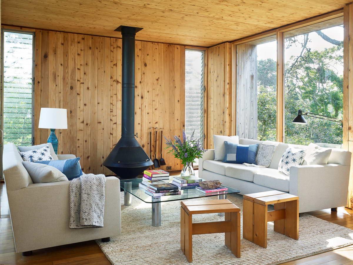 Обновление модернистского дома 1960-х годов в США