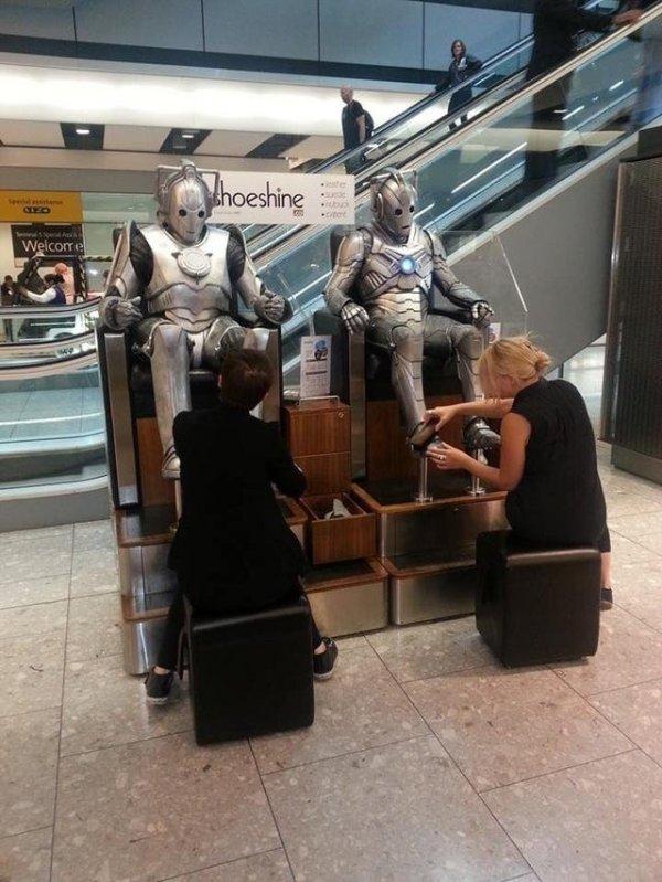 Забавные и необычные ситуации в аэропортах