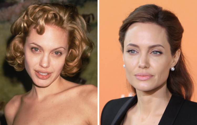 Знаменитые женщины, которые были блондинками и брюнетками