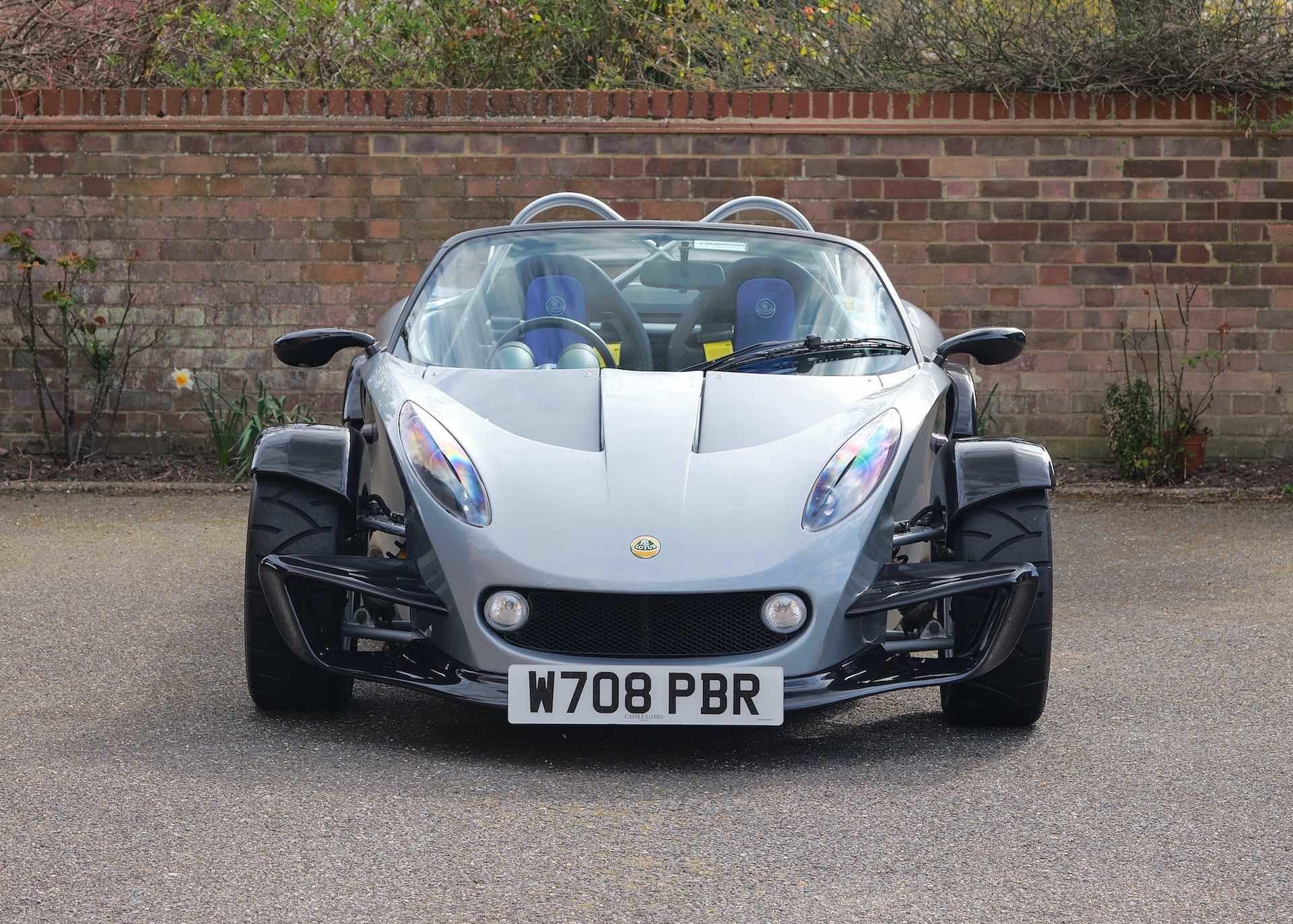 Концептуальный спорткар Lotus 340R, построенный из Lotus Elise