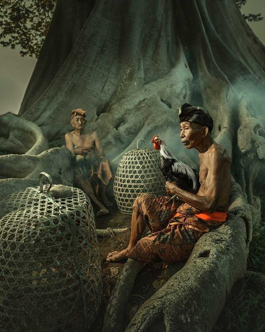 Впечатляющие портретные снимки от Рариндра Пракарса
