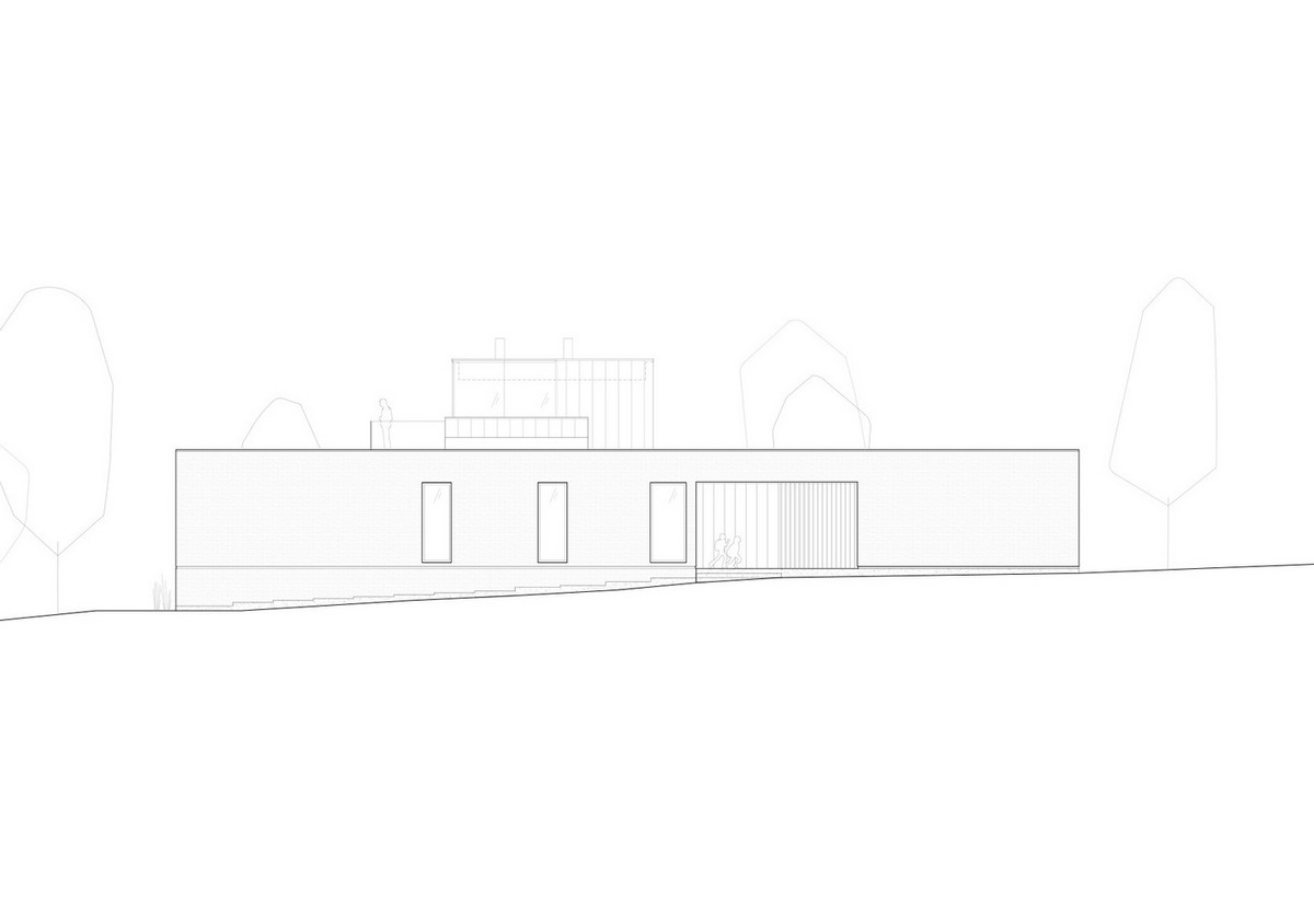 Современный дом с бассейном на острове в Канаде