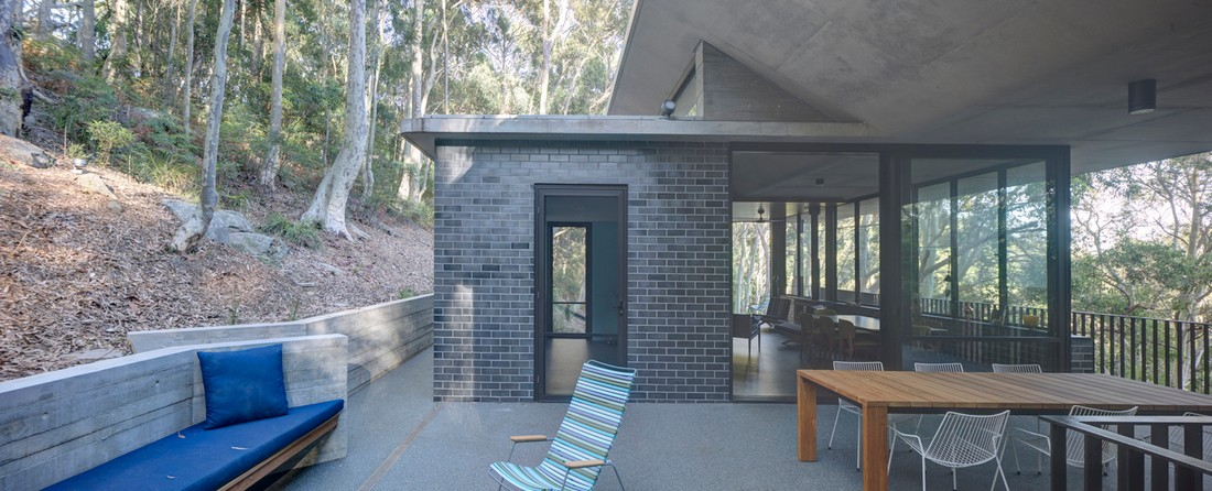 Оригинальный загородный дом для отдыха в Австралии