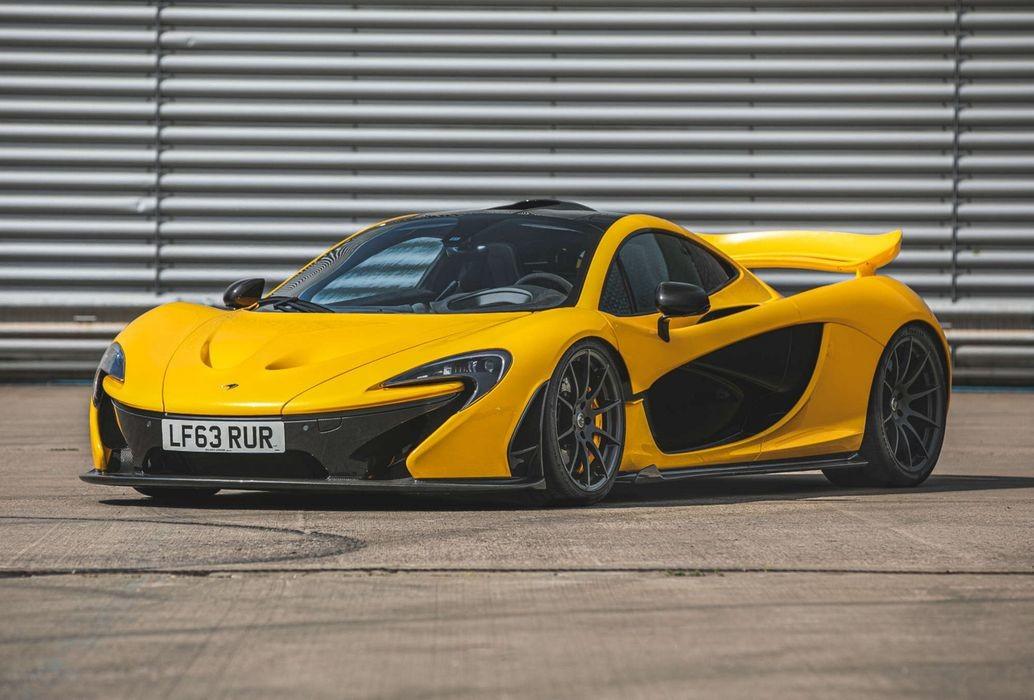 Первый в истории McLaren P1 будет продан на аукционе