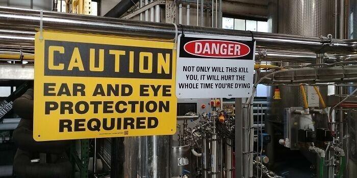 Примеры безответственного отношения к технике безопасности