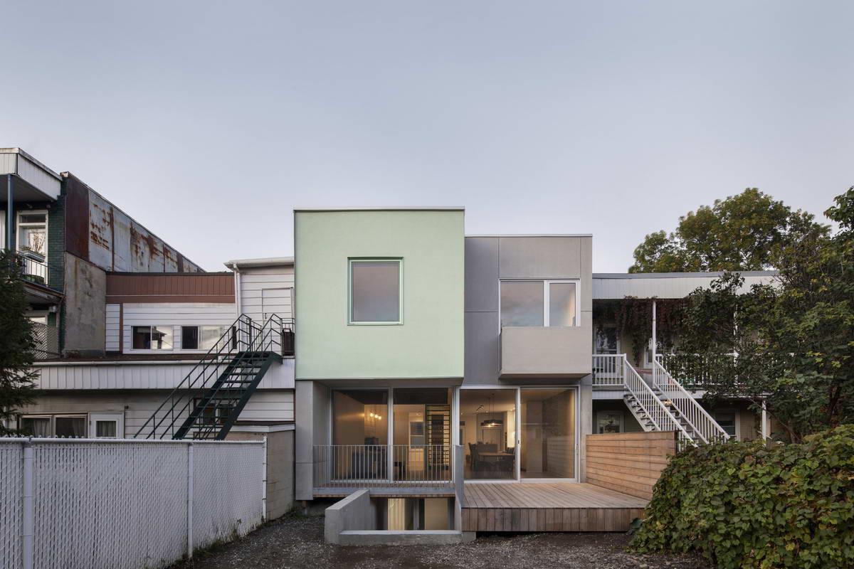 Простое и аккуратное обновление городского дома в Канаде
