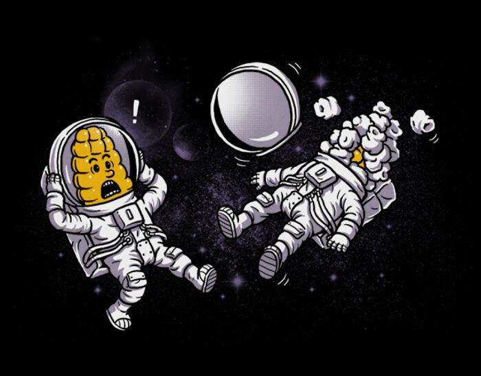 Саркастические иллюстрации с чёрным юмором от Бена Чена