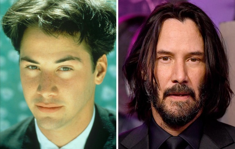 Отечественные и голливудские звёзды в молодые годы и сейчас