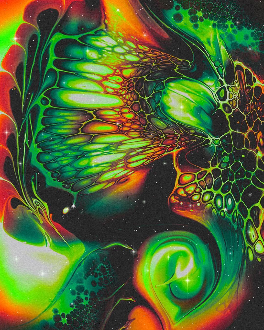 Красочная абстрактная графика от Алисии Рейно
