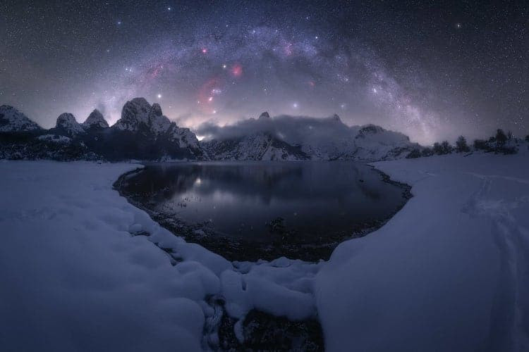 Лучшие фотоснимки Млечного пути 2021 года
