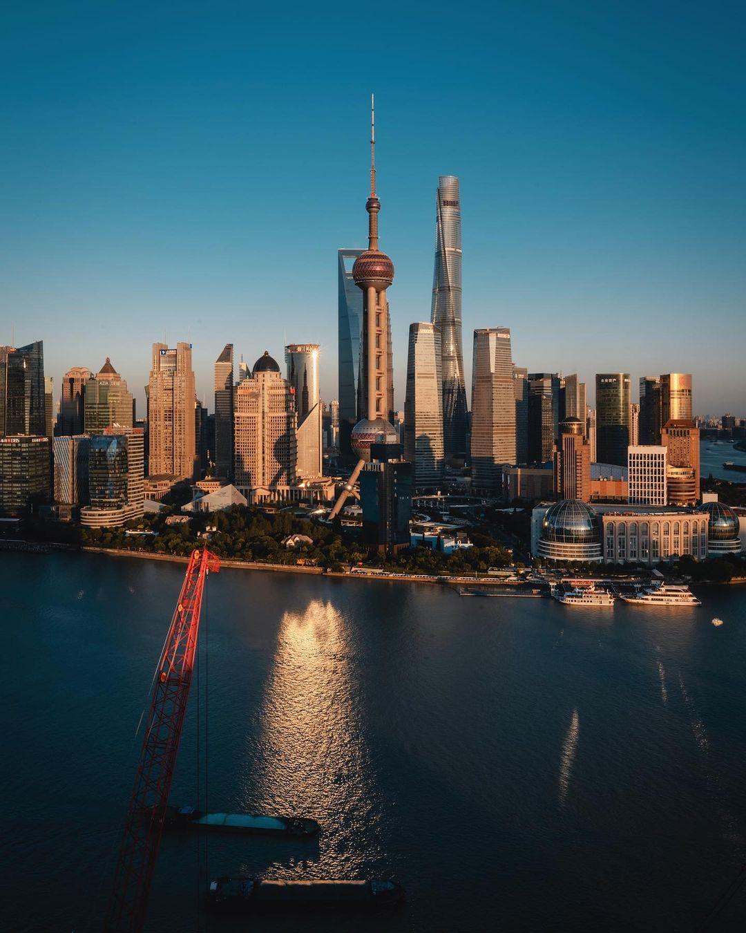 Китайские города и архитектура на снимках Лю Цяня