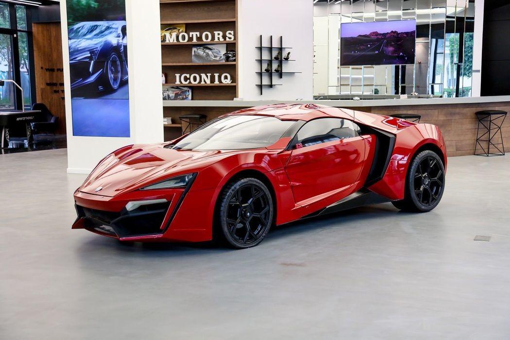 Автомобиль-каскадер Lykan HyperSport из Форсажа
