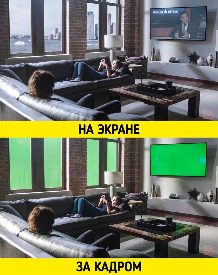 Реалистичные сцены из фильмов, которые оказались компьютерной графикой