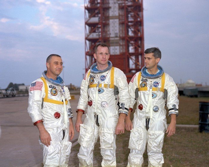 История космонавтики на снимках