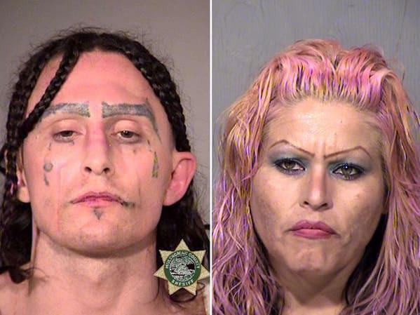 Самые нестандартные брови у людей на полицейских снимках