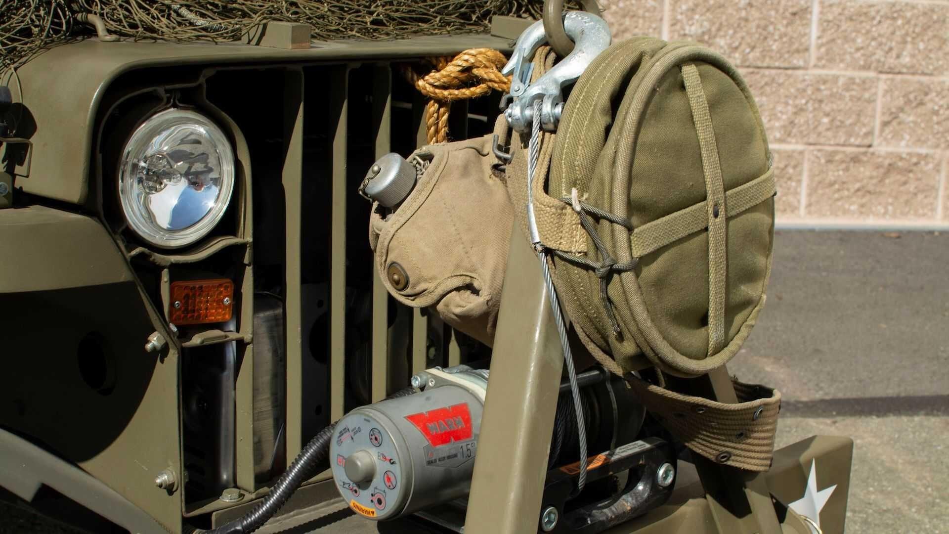 Симпатичный детский Willis MB с мотором от газонокосилки
