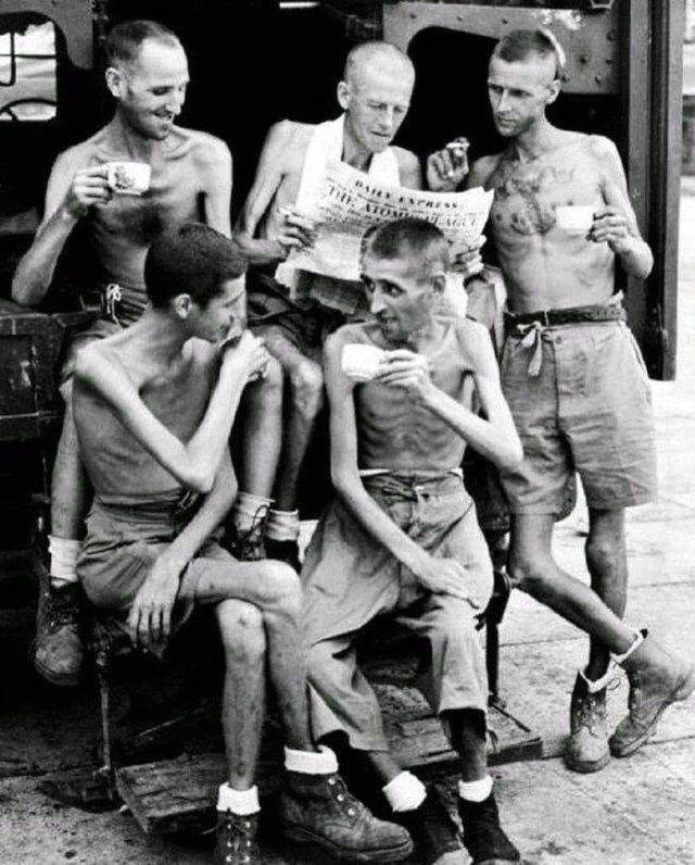 Яркие черно-белые кадры из прошлого