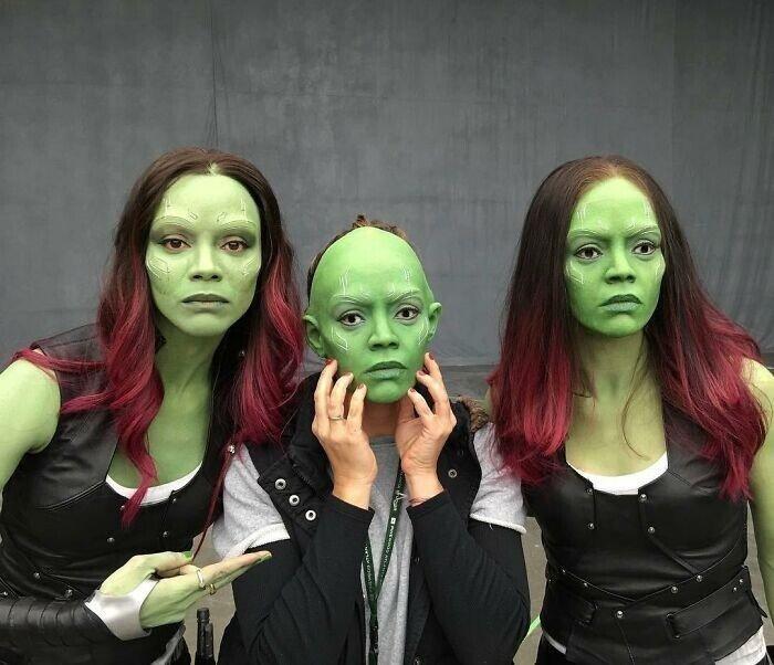 Закулисье Marvel на забавных и неожиданных фотографиях