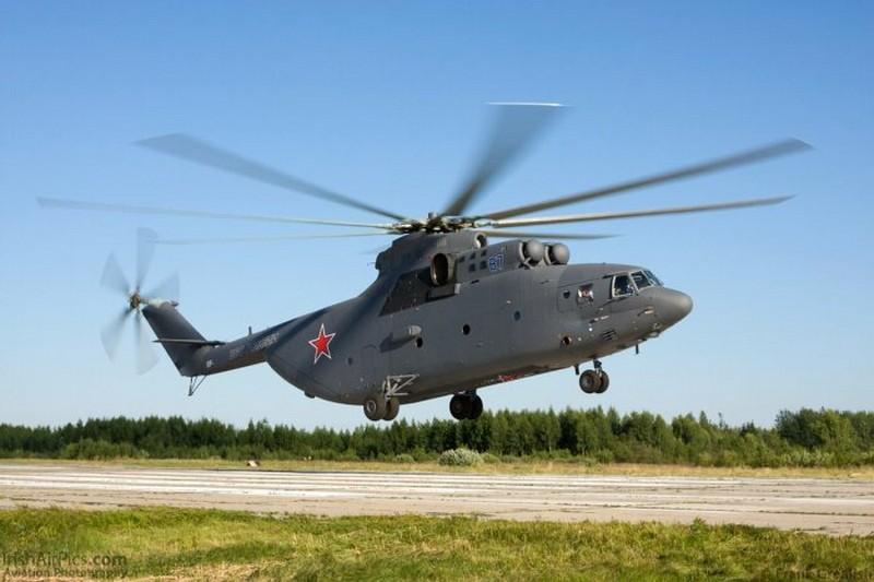 Транспортные вертолеты, которые можно называть самыми большими