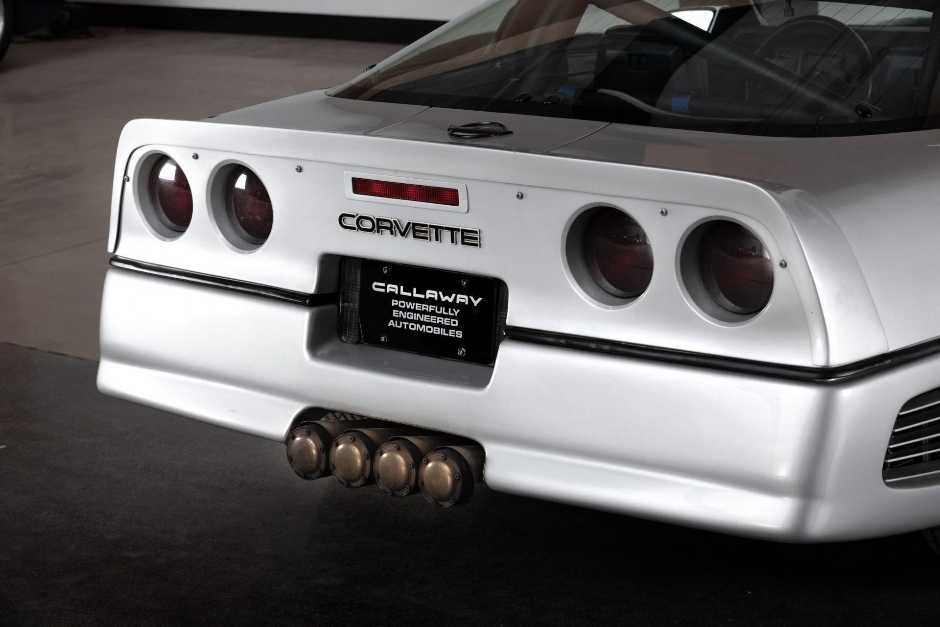 Chevrolet Corvette, установивший рекорд скорости в 1988 году