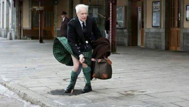 Почему же мужчины в Шотландии носят юбки?
