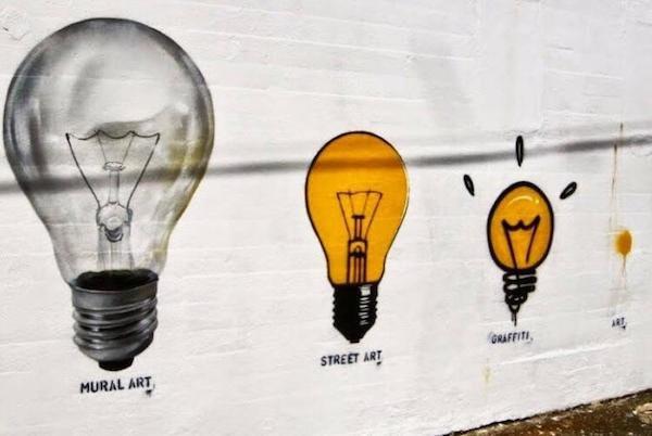 Разные примеры впечатляющего стрит-арта