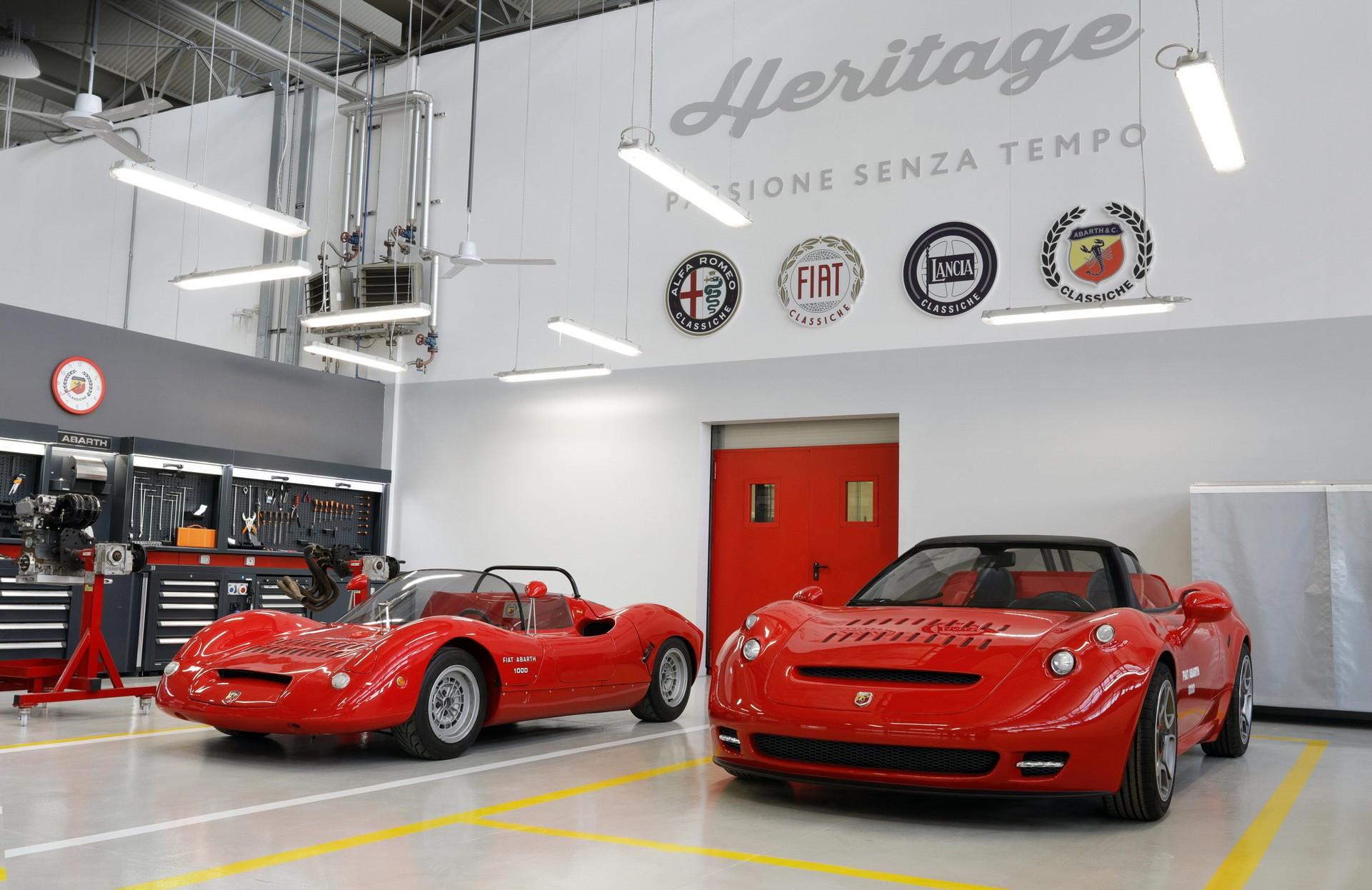 Уникальный родстер Abarth 1000 SP на базе 4C от Alfa Romeo