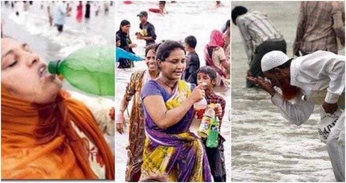Мумбайский психоз 2006 года, когда люди пили морскую воду