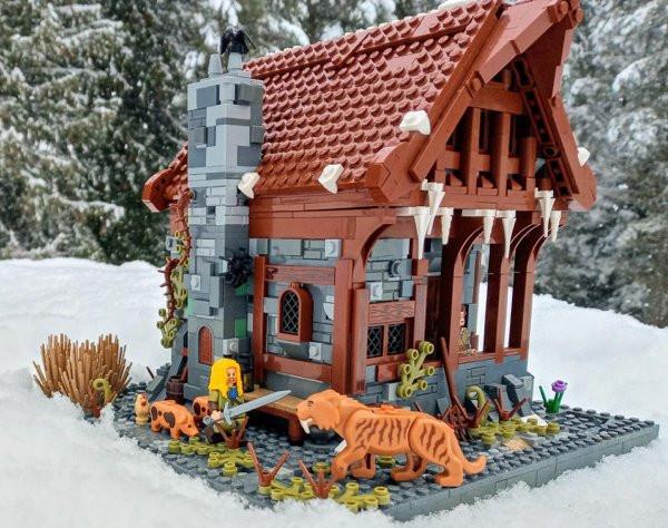 Различные конструкции от любителей LEGO