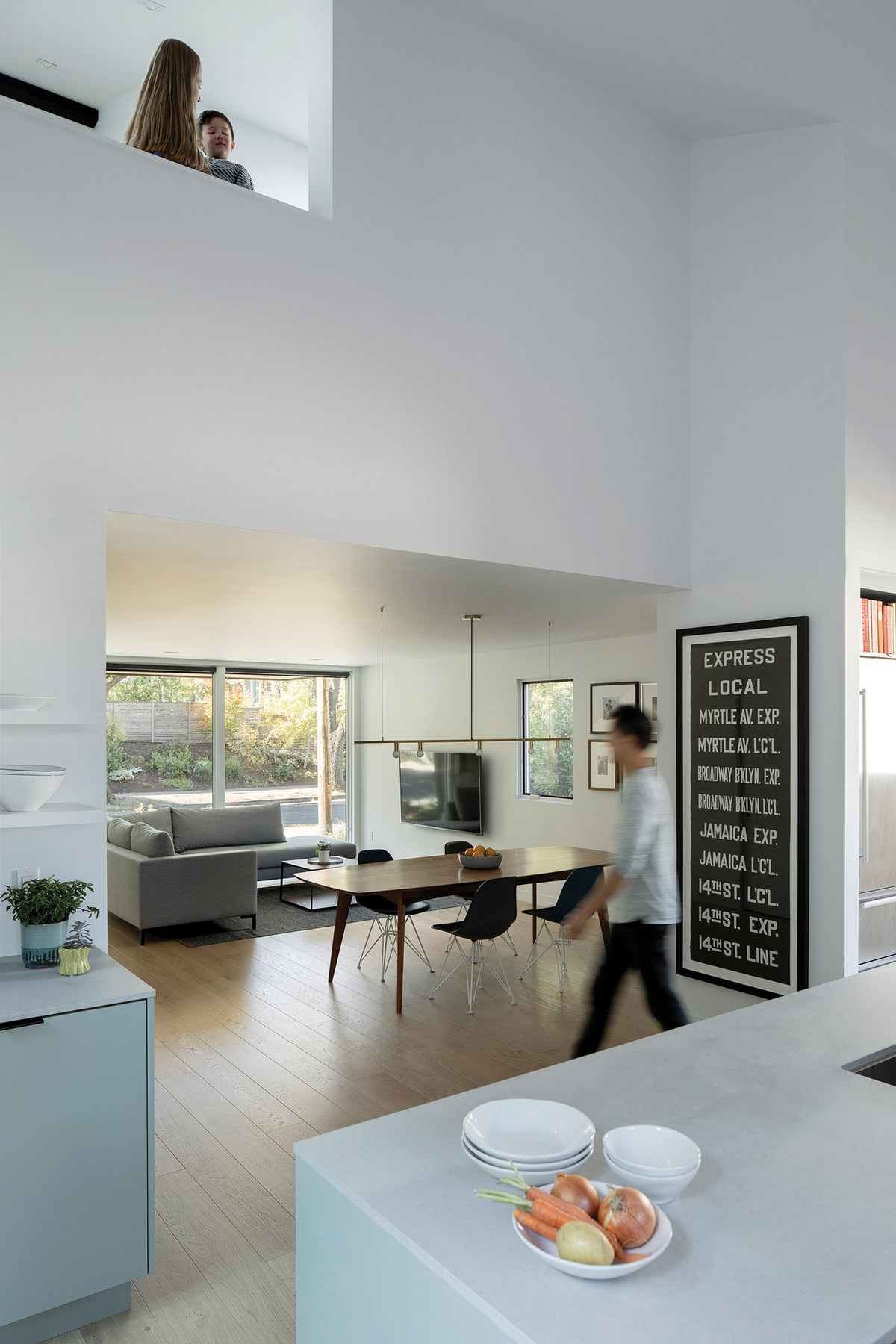Современная модернизация старого дома в США