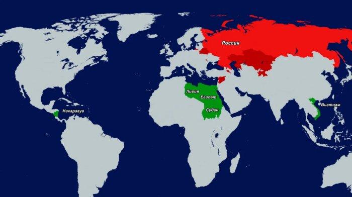 Территории, которые принадлежат России, но находятся за её пределами