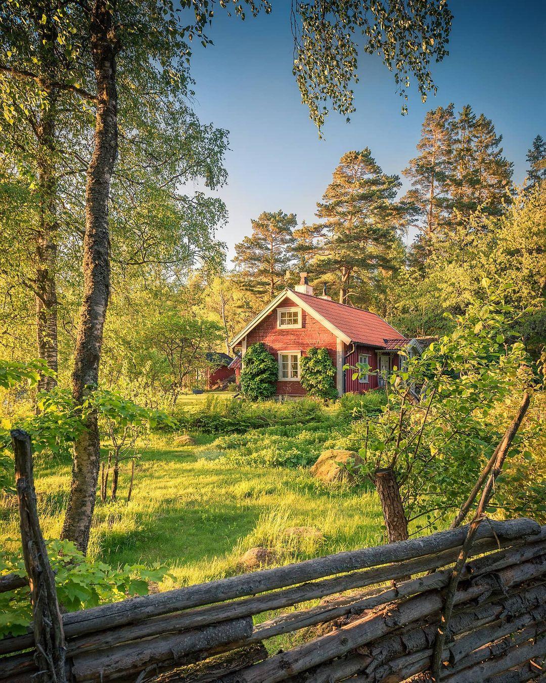 Красота природы Швеции на снимках Кристиана Линдстена