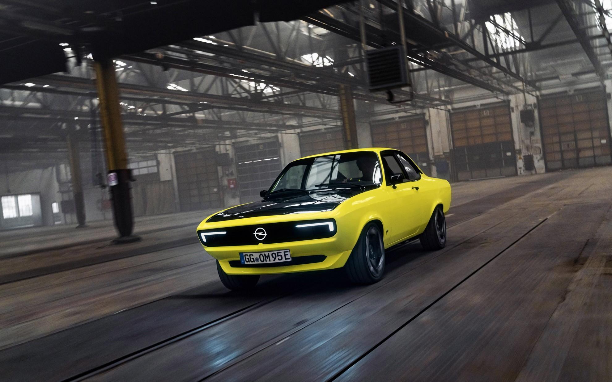 Manta GSe Elektromod — классический Opel стал электрическим