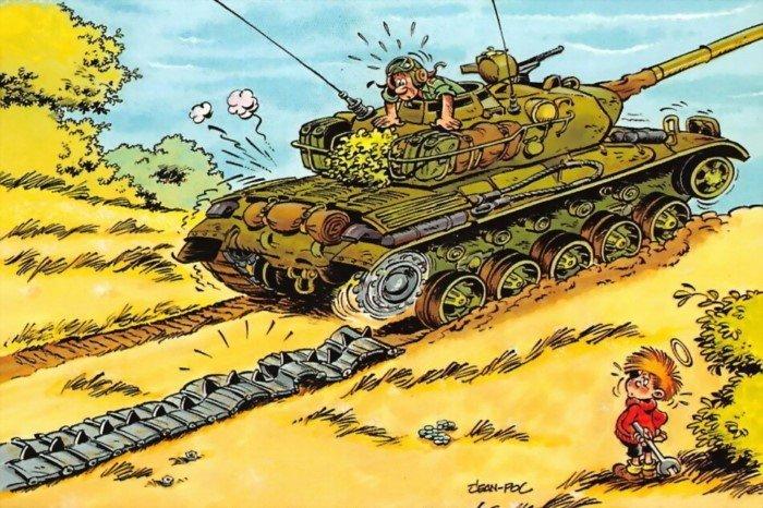 Большая сага о маленьких армиях в весёлых картинках