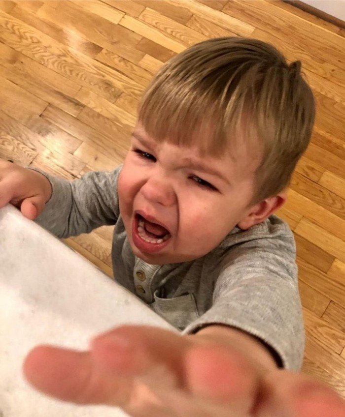 Разные забавные причины детских истерик