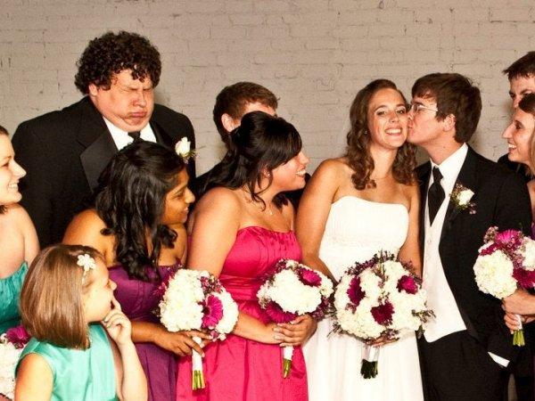 Забавные и провальные свадебные снимки