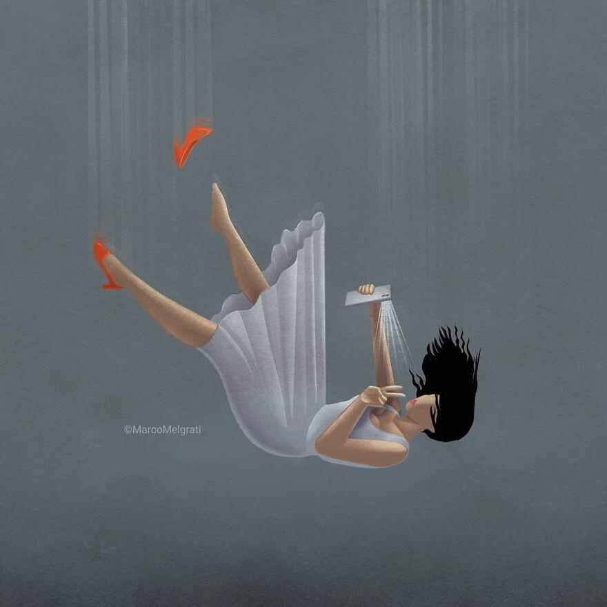 Проблемы современного общества в иллюстрациях Марко Мелграти