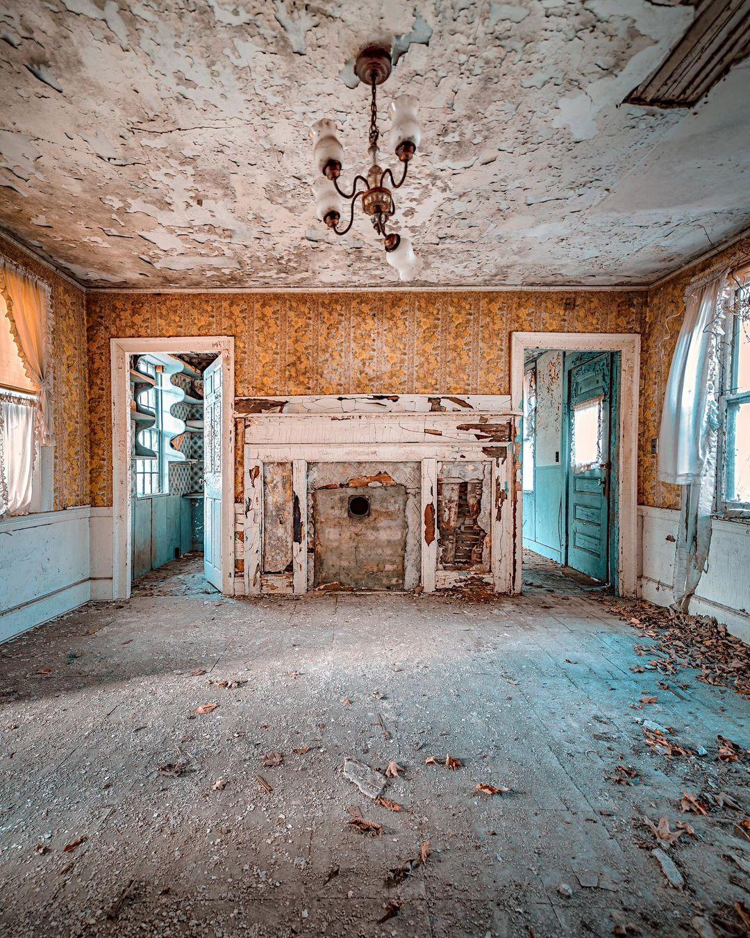 Снимки заброшенных мест США от Тессы Александры Ши