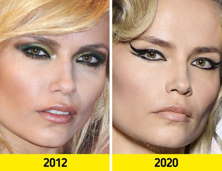 Как с годами изменились лица супермоделей прошлого