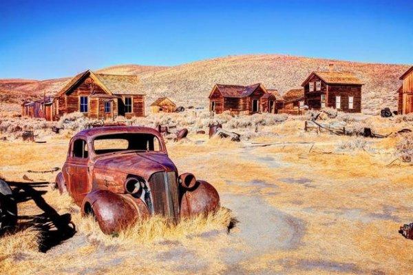 Снимки разных атмосферных заброшенных мест