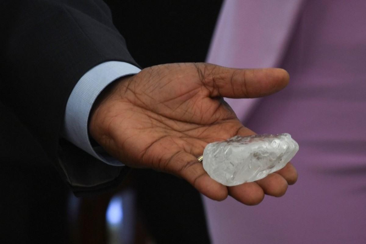 В Ботсване нашли третий по величине алмаз в мире