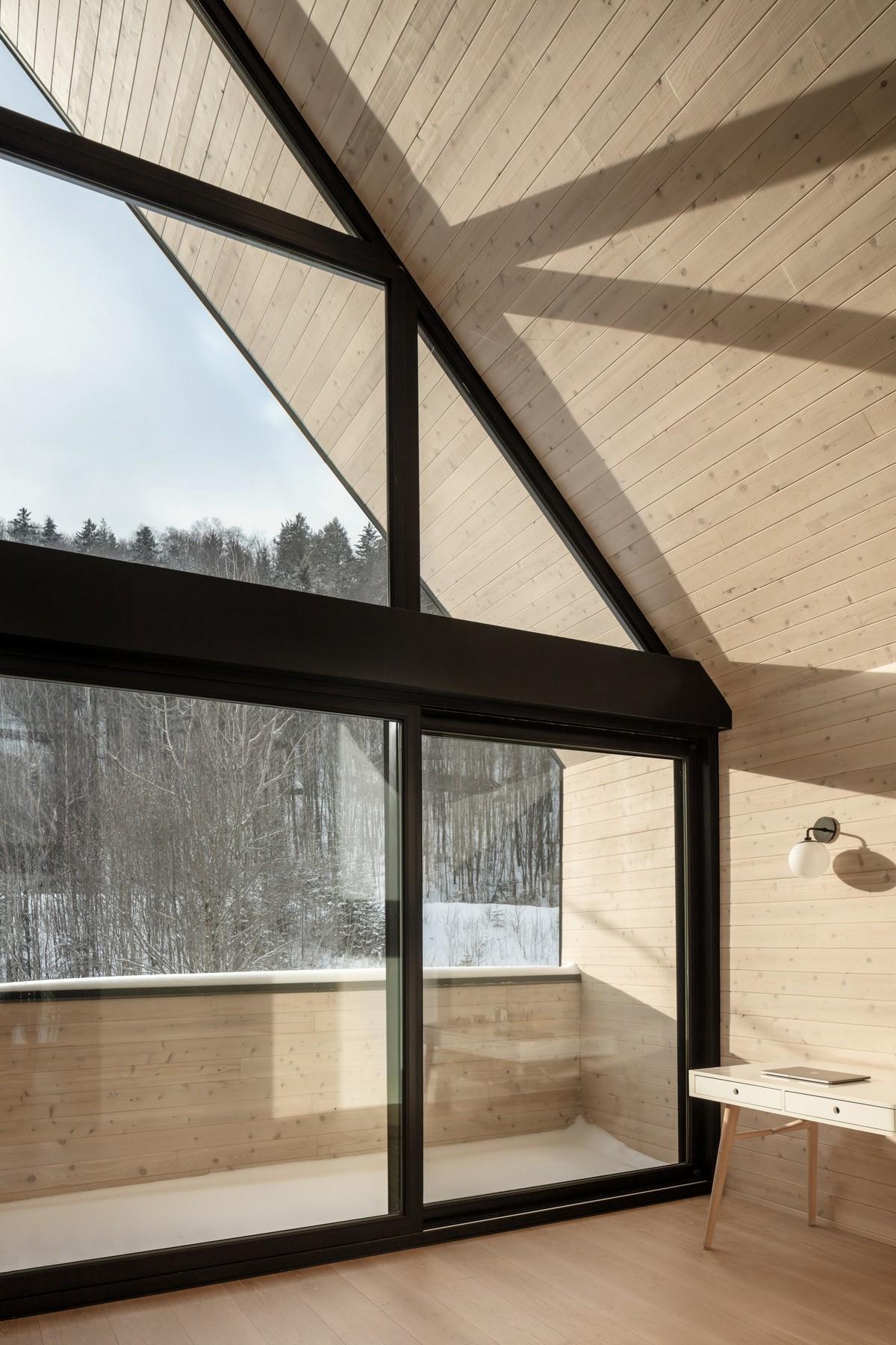 Преобразование старого шале в семейную резиденцию в Канаде