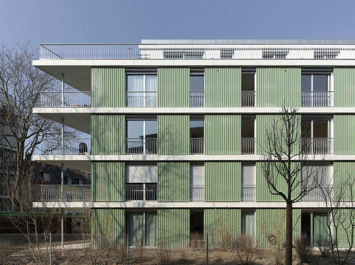 Многоквартирный жилой дом в Швейцарии