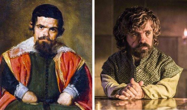 Знаменитости и примеры их двойников из прошлого