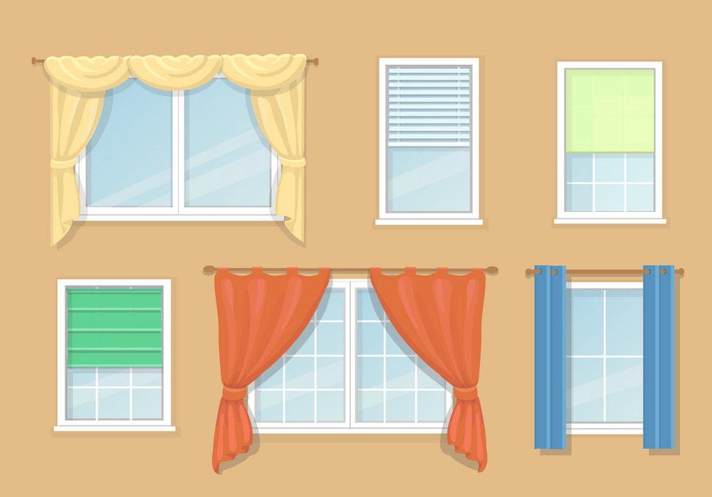 Английские, римские или рулонные? Выбираем шторы для кухни по всем правилам