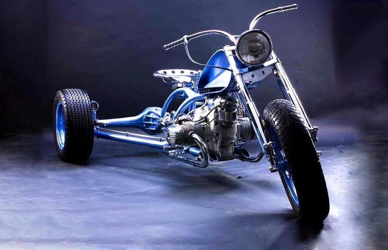 Оригинальные российские мотоциклы в единственном экземпляре