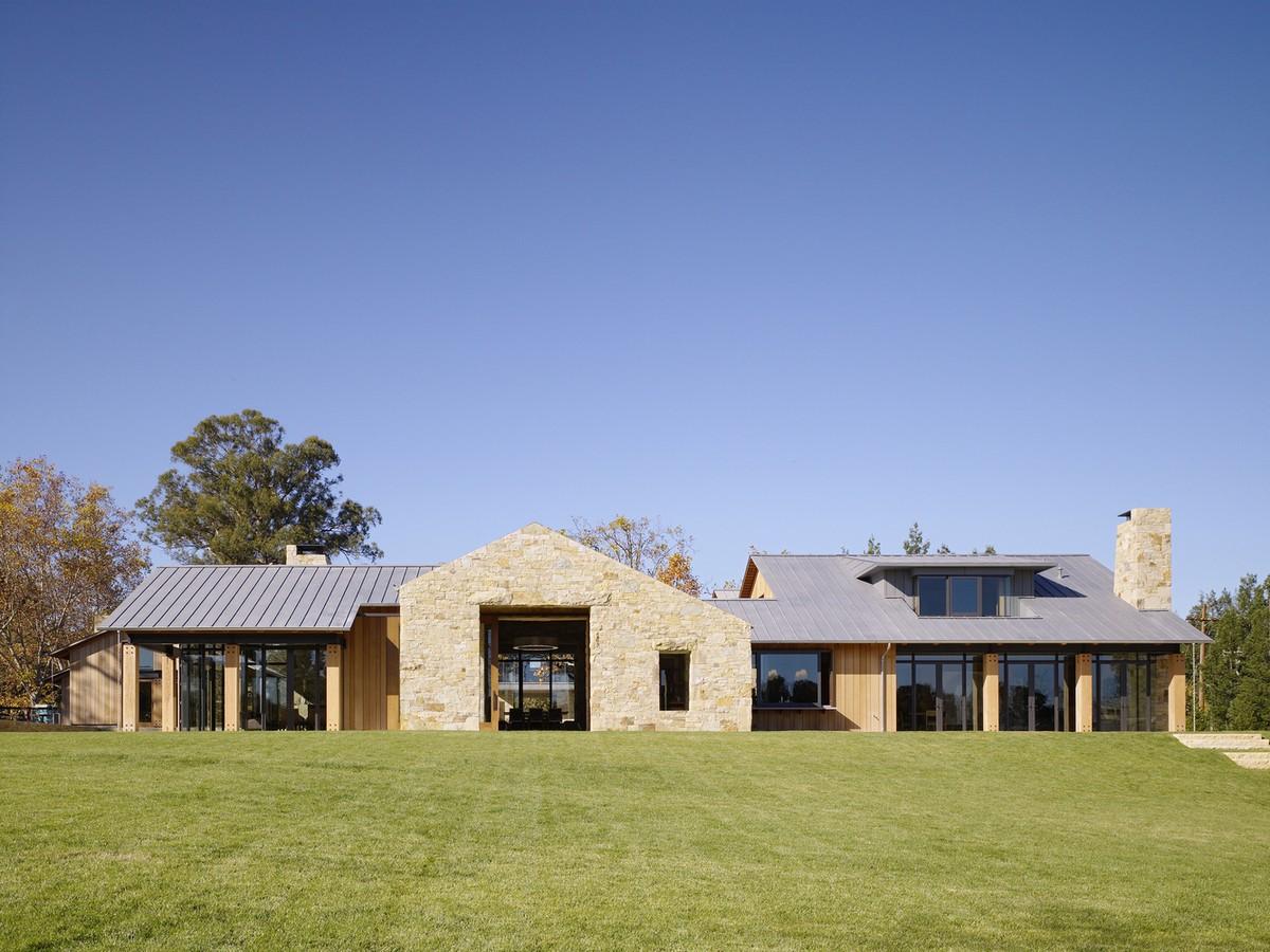 Современная сельская резиденция в США