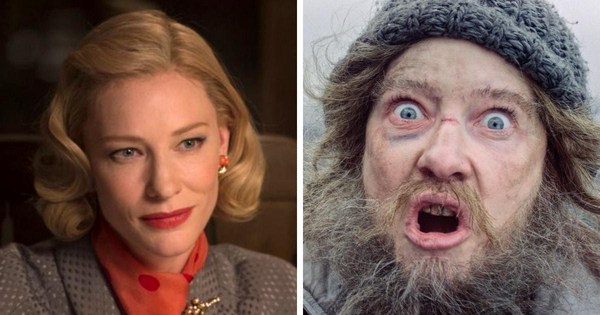 Известные актеры, которых преобразили до полной неузнаваемости